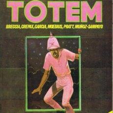 Cómics: TOTEM - Nº 37 - CREPAX - GARCIA - MOEBIUS - BRECCIA - PRATT - MUÑOZ-SAMPAYO. Lote 34382972