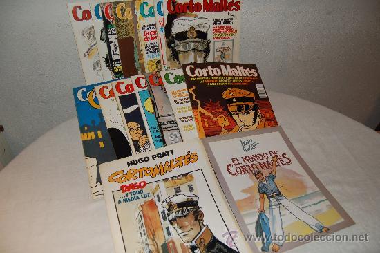 CORTO MALTÉS COMPLETA CON TODOS LOS COMPLEMENTOS (Tebeos y Comics - Nueva Frontera)