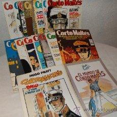 Cómics: CORTO MALTÉS COMPLETA CON TODOS LOS COMPLEMENTOS. Lote 35208238