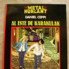 Cómics: METAL HURLANT NEGRA 4 - AL ESTE DE KARAKULAK - DANIEL CEPPI. Lote 31446884
