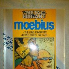 Cómics: METAL HURLANT LONG TOMORROW,UEVES NEGRO,BALLADE... POR MOEBIUS. Lote 35857252