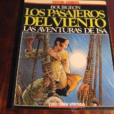 Cómics: LOS PASAJEROS DEL VIENTO.- LAS AVENTURAS DE ISA. Lote 37230457