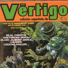 Cómics: VÉRTIGO - Nº 10 - PILOTE - EDITORIAL NUEVA FRONTERA - AÑOS 80.. Lote 38296391