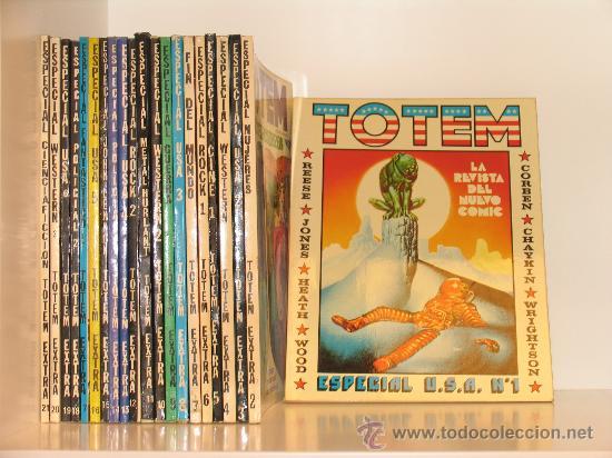 TOTEM COMPLETA . VARIAS COLECCIONES COMPLETAS. VER DESCRIPCION (Tebeos y Comics - Nueva Frontera)
