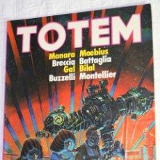 Cómics: TOTEM Nº42 (CON ,MANARA, MOEBIUS,BRECCIA, BATTAGLIA, GAL, BILAL, BUZZELLI, MONTELLIER...). Lote 40036017