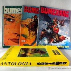 Cómics: LOTE DE 4 COMICS BUMERANG 8 * 13 * 24 *ANTOLOGIA. Lote 39756756