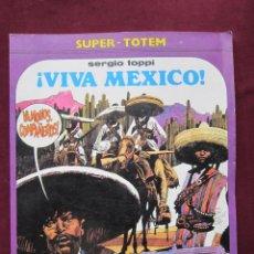 Cómics: ¡VIVA MEXICO! SERGIO TOPPI. SUPER-TOTEM Nº 9. NUEVA FRONTERA 1980. Lote 41029081
