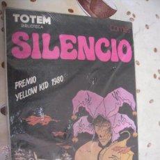 Cómics: SILENCIO DE BIBLIOTECA TOTEM. Lote 41773721