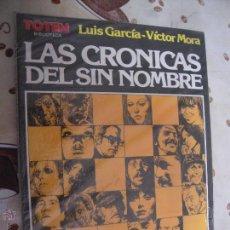 Cómics: LAS CRONICAS DEL SIN NOMBRE DE BIBLIOTECA TOTEM. Lote 41773786