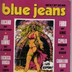 Cómics: SUPER BLUE JEANS Nº 17 EL HUMOR NEGRO DE MOEBIUS. JEFF HAWKE. Lote 42798190