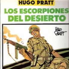 Cómics: LOS ESCORPIONES DEL DESIERTO - HUGO PRATT - TOTEM. Lote 43163046
