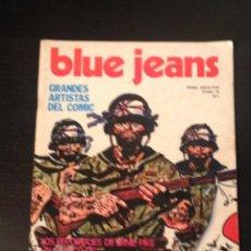 Cómics: BLUE JEANS Nº 1 COMIC - EDICIONES NUEVA FRONTERA - PARA ADULTOS HUGO PRATT. Lote 43408014