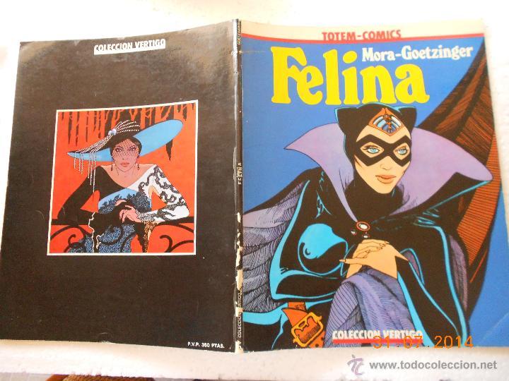 Cómics: comic Mora-Goetzinger - Felina - Coleccion Vertigo 2 NJ.D - Foto 2 - 207197275