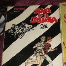 Cómics: BIBLIOTECA TOTEM CUADERNO COMICS ANA DE LA JUNGLA. Lote 34404514