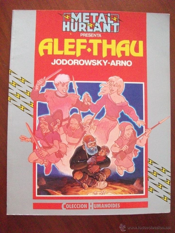 METAL HURLANT ALEF-THAU COLECCION HUMANOIDES (Tebeos y Comics - Nueva Frontera)