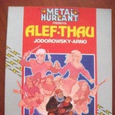 Cómics: METAL HURLANT ALEF-THAU COLECCION HUMANOIDES . Lote 45207533