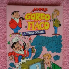 Cómics: ALBUM EL GORDO Y EL FLACO 2 EDITORIAL NUEVA FRONTERA 1980 ALBUM A TODO COLOR. Lote 46359959