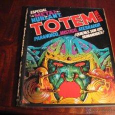 Cómics: TOTEM 11.- ESPECIAL METAL HURLANT. Lote 47847234