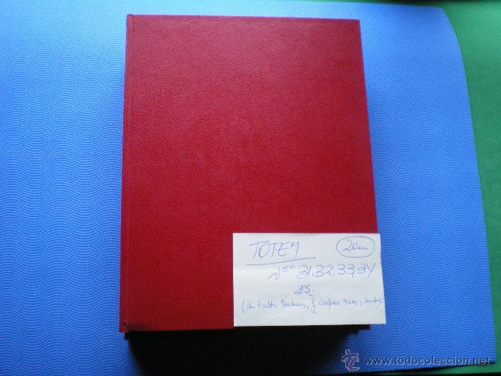 EDITORIAL NUEVA FRONTERA TOTEM 7 /1 TOMO - NºS 31,32,33,34,35. 1983 ENCUADERNADOS PDELUXE (Tebeos y Comics - Nueva Frontera)