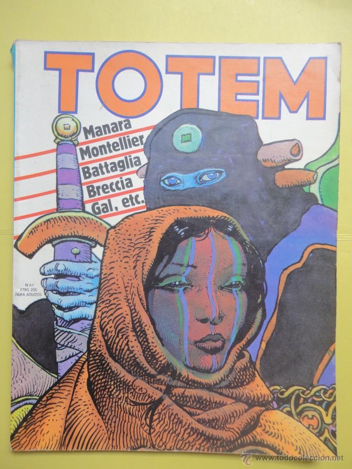 TOTEM Nº 41 (Tebeos y Comics - Nueva Frontera)