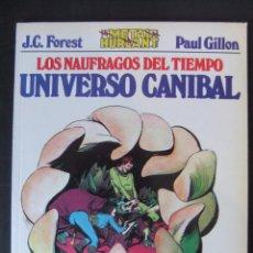 Cómics: METAL HURLANT COLECCION METAL Nº 19 LOS NAUFRAGOS DEL TIEMPO UNIVERSO CANIBAL. Lote 48258138
