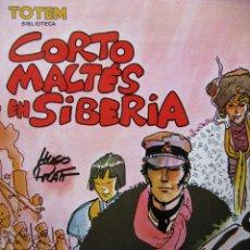 Cómics: BIBLIOTECA TOTEM - CORTO MALTÉS EN SIBERIA - VOL. 7 - HUGO PRATT - ORIGINAL 1980 (COMO NUEVO). Lote 49774642