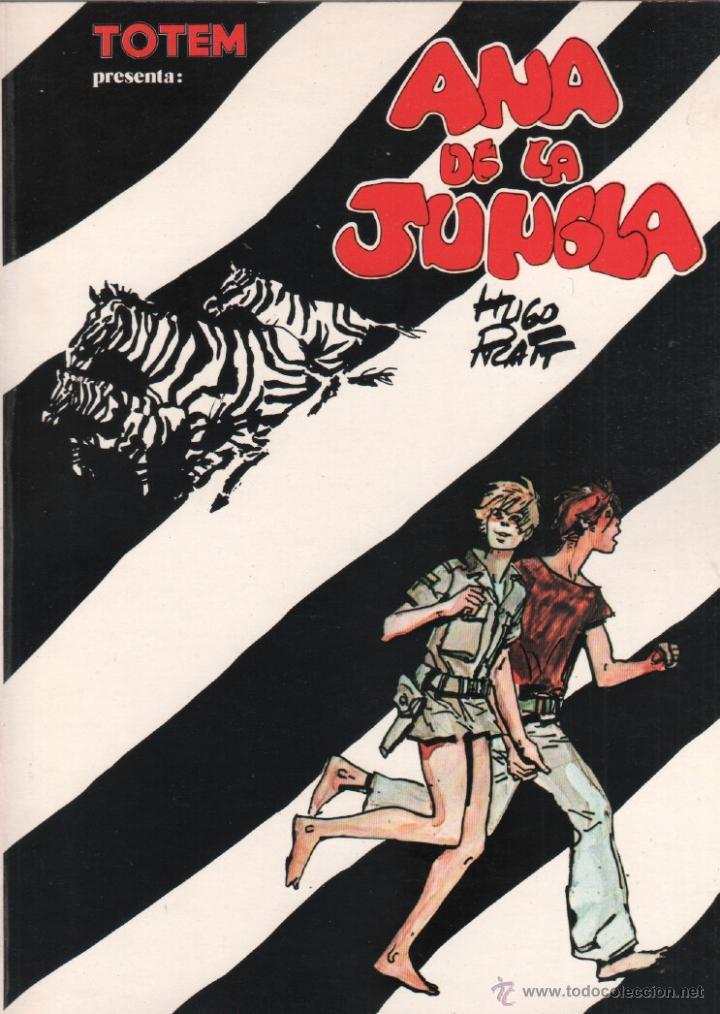 ANA DE LA JUNGLA - HUGO PRATT - TOTEM BIBLIOTECA Nº 5 - NUEVA FRONTERA 1979 - 113 PÁGINAS (Tebeos y Comics - Nueva Frontera)