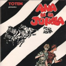 Cómics: ANA DE LA JUNGLA - HUGO PRATT - TOTEM BIBLIOTECA Nº 5 - NUEVA FRONTERA 1979 - 113 PÁGINAS. Lote 50473151