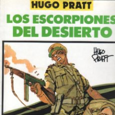 Cómics: HUGO PRATT - LOS ESCORPIONES DEL DESIERTO - TOTEM COMICS 1990 - A COLOR. Lote 50521109
