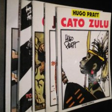 Cómics: 5 COMICS HUGO PRATT / CATO ZULU - JESUITA JOE - ANA DE LA JUNGLA - MULULHE - RELATOS DE GUERRA. Lote 51146686