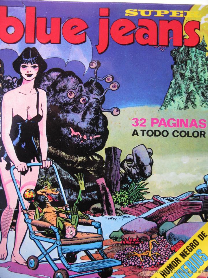 SUPER BLUE JEANS. NROS. 19,20,22,23,25 Y 27. EDITORIAL NUEVA FRONTERA. (Tebeos y Comics - Nueva Frontera)