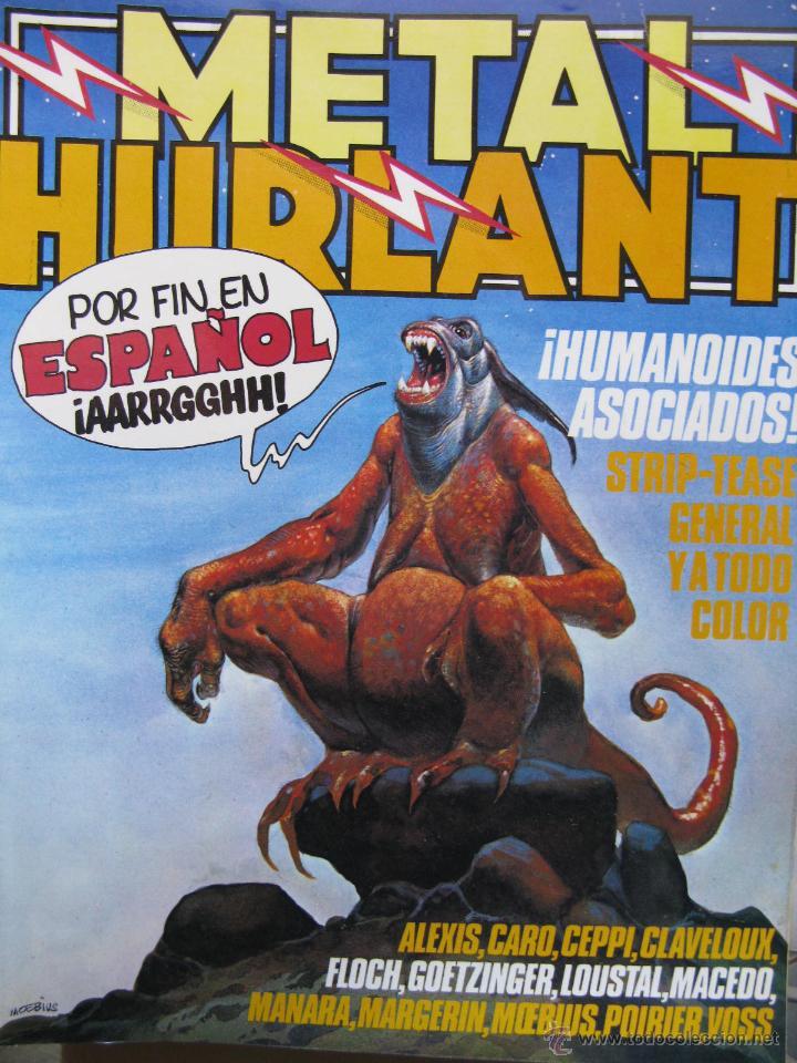 METAL HURLANT. HUMANOIDES ASOCIADOS. NROS. 1, 3 Y 17. (COMO NUEVOS) (Tebeos y Comics - Nueva Frontera)