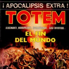 Cómics: TOTEM EXTRA 7 ¡APOCALIPSIS EXTRA! - EL FIN DEL MUNDO. EDITORIAL NUEVA FRONTERA, 1977. Lote 51891667