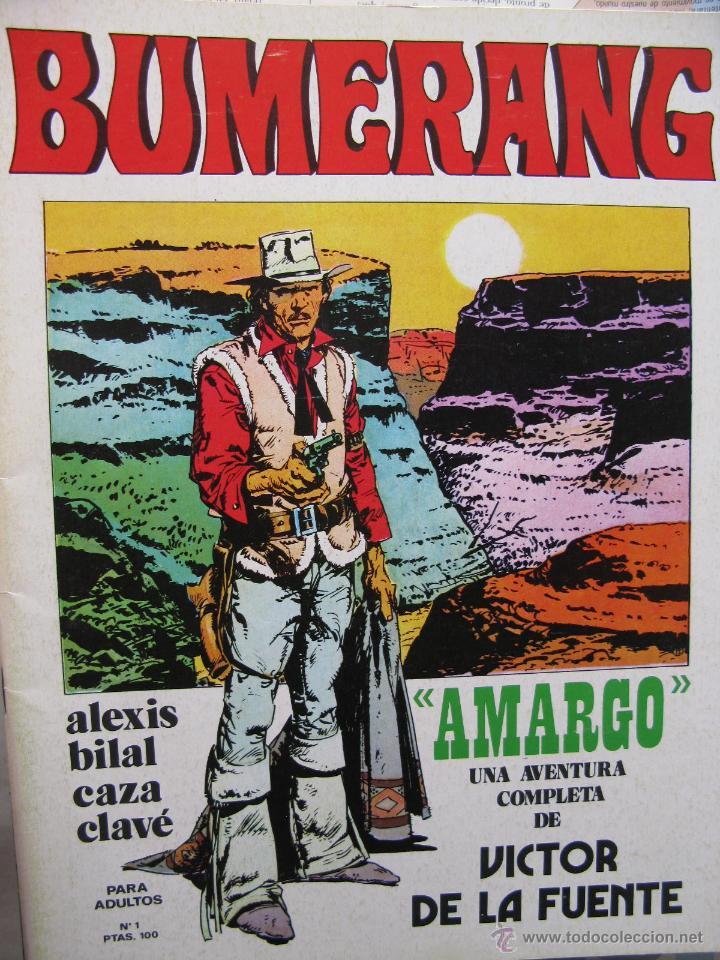 BUMERANG. EL IMPACTO DE LOS GRANDES MESTROS. NROS. 1 AL 13. NUEVA FRONTERA. (COMO NUEVOS) (Tebeos y Comics - Nueva Frontera)