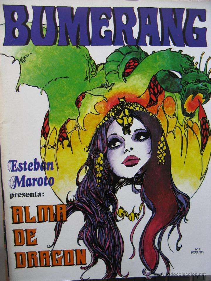 Cómics: BUMERANG. EL IMPACTO DE LOS GRANDES MESTROS. NROS. 1 AL 13. NUEVA FRONTERA. (COMO NUEVOS) - Foto 7 - 52312876