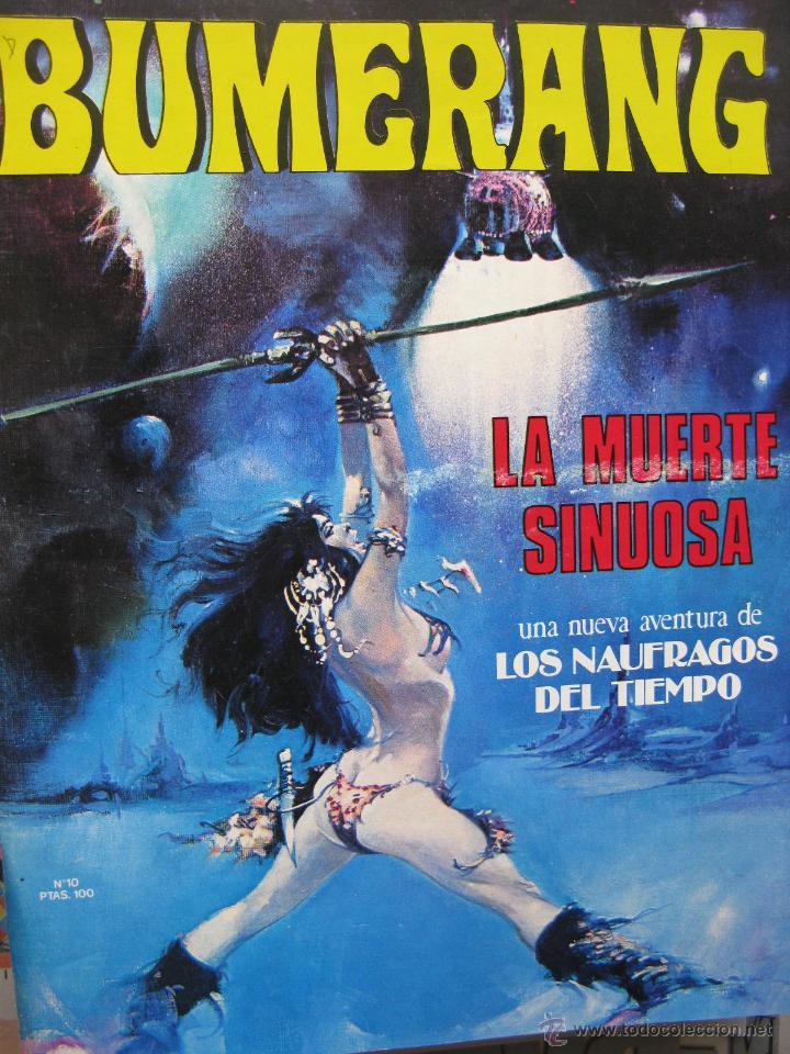 Cómics: BUMERANG. EL IMPACTO DE LOS GRANDES MESTROS. NROS. 1 AL 13. NUEVA FRONTERA. (COMO NUEVOS) - Foto 10 - 52312876