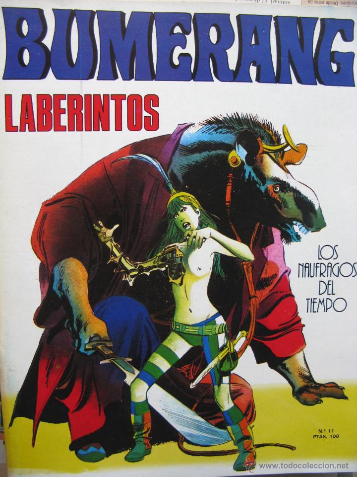 Cómics: BUMERANG. EL IMPACTO DE LOS GRANDES MESTROS. NROS. 1 AL 13. NUEVA FRONTERA. (COMO NUEVOS) - Foto 11 - 52312876