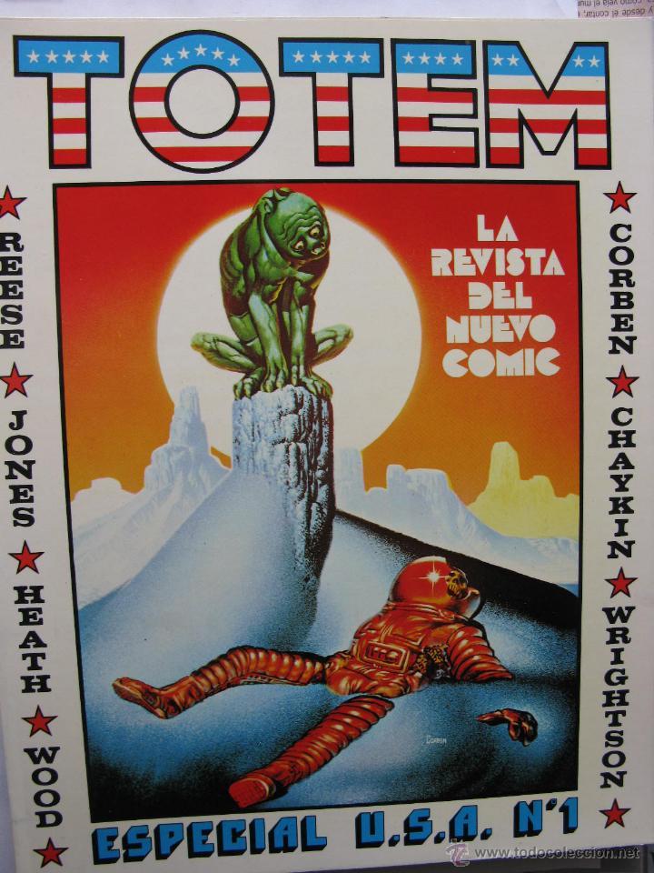 TOTEM EXTRA. NROS. 1/6 Y 8/11. NUEVA FRONTERA (COMO NUEVOS) (Tebeos y Comics - Nueva Frontera)
