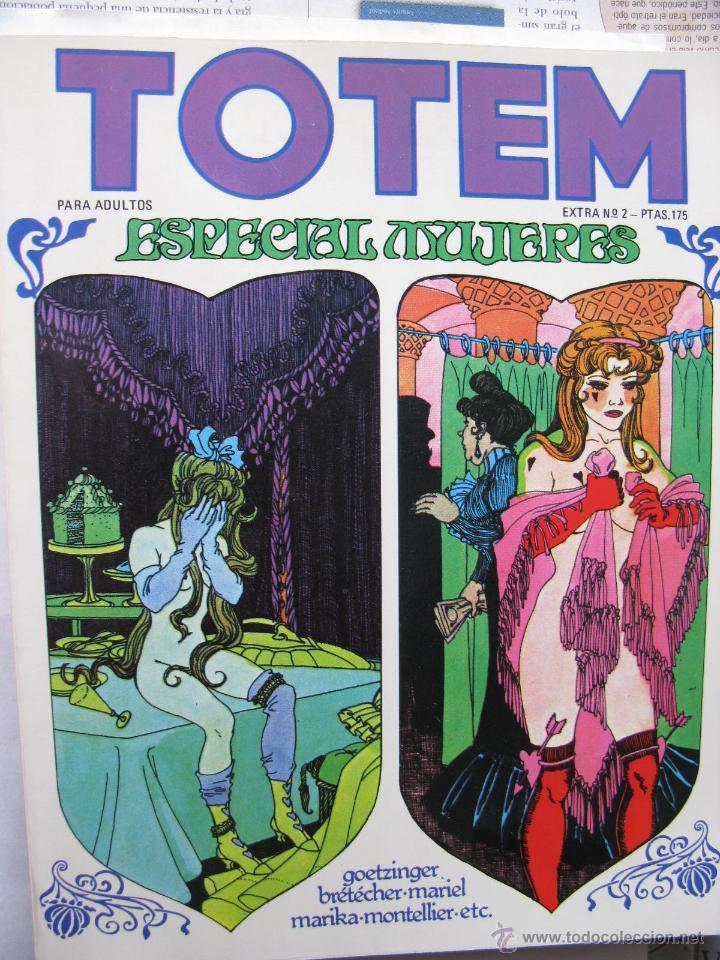 Cómics: TOTEM EXTRA. NROS. 1/6 Y 8/11. NUEVA FRONTERA (COMO NUEVOS) - Foto 2 - 52314515