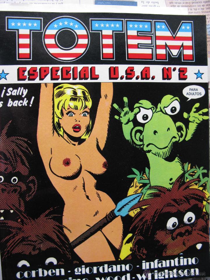 Cómics: TOTEM EXTRA. NROS. 1/6 Y 8/11. NUEVA FRONTERA (COMO NUEVOS) - Foto 3 - 52314515
