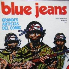 Cómics: BLUE JEANS. NROS. 1/10 - 12/16. EDITORIAL NUEVA FRONTERA. 1977.. Lote 52430371