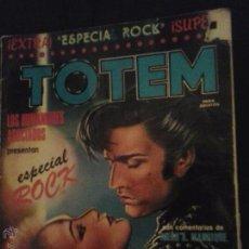 Cómics: TOTEM EXTRA Nº 6 - ESPECIAL ROCK - EDITORIAL NUEVA FRONTERA. Lote 52850357