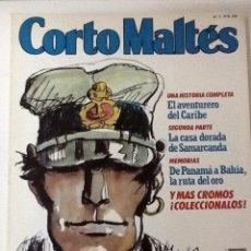 Cómics: CORTO MALTÉS Nº 7 - EL AVENTURERO DEL CARIBE - HUGO PRATT - 1989. Lote 53439903