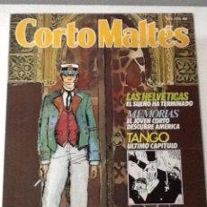 Cómics: CORTO MALTÉS Nº 5 - LAS HELVÉTICAS, ROSA ALQUÍMICA (2) - PRATT - 1988. Lote 53439914