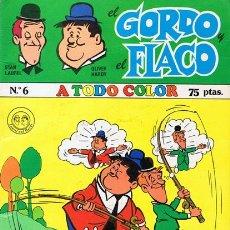 Cómics: CÓMIC EL GORDO Y EL FALCO Nº 6 STAN LAUREL & OLIVER HARDY. Lote 53548196