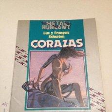 Comics: COLECCION HUMANOIDES Nº 9. CORAZAS. FRANCOIS SCHUITEN. NUEVA FRONTERA 1983. Lote 54988494