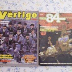 Cómics: LOTE DE DOS Nº 1 VERTIGO Y ZONA 84. Lote 57193248