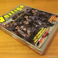 Cómics: VERTIGO (1 AL 8) COMIC EDICIÓN ESPAÑOLA DE PILOTE. NUEVA FRONTERA (1982). Lote 57952000