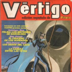 Comics: VÉRTIGO. Nº 9. EDICIÓN ESPAÑOLA DE PILOTE. NUEVA FRONTERA 1982. (RF.MA) C/24. Lote 58133014