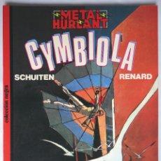 Cómics: CYMBIOLA / SCHUITEN / RENARD-METAL HURLANT- C. NEGRA N.º 17 – EUROCOMIC 1982. Lote 58732722